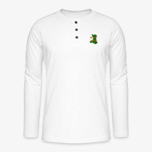 Wales Trails - Henley long-sleeved shirt