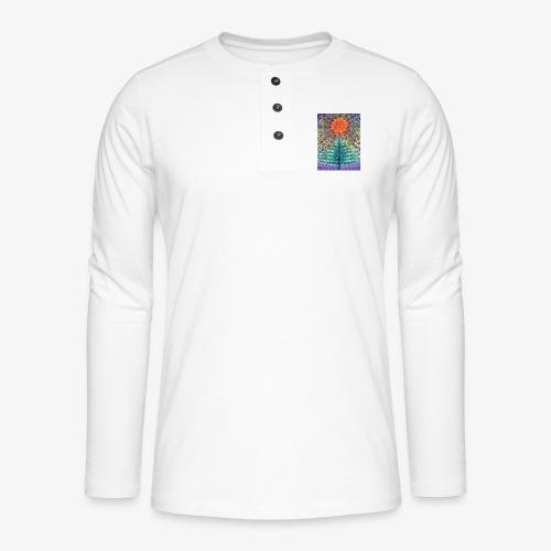 Miraż - Koszulka henley z długim rękawem