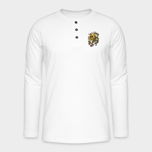 Fighting cards - Soigneuse - T-shirt manches longues Henley