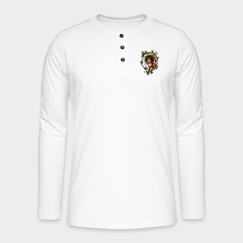 Geneworld - Mononoke - T-shirt manches longues Henley