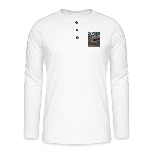 Juuret tukevasti maassa - Henley pitkähihainen paita