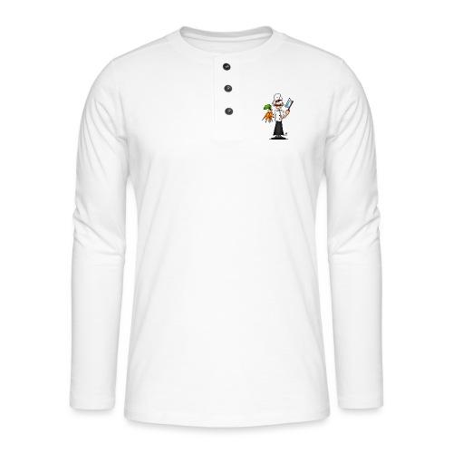 The vegetarian chef - Henley long-sleeved shirt
