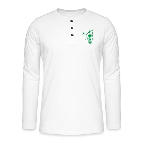 tonearm05 - Henley shirt met lange mouwen