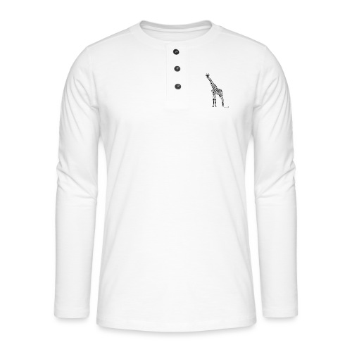 Black Girafe By Joaquín - T-shirt manches longues Henley