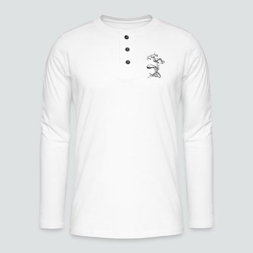 Octopussy png - Henley Langarmshirt