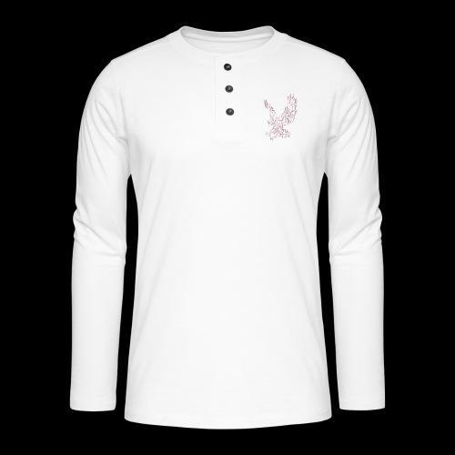 Eagle circuit - Henley T-shirt med lange ærmer