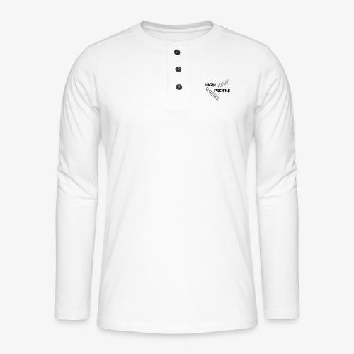 HIGH PROFILE SPORT - Henley long-sleeved shirt