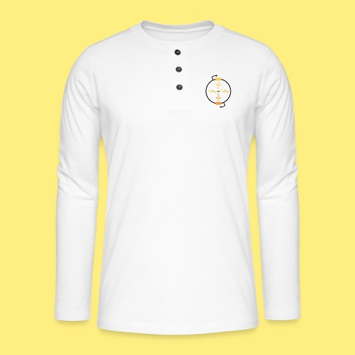 Biocontainment tRNA - shirt women - Henley shirt met lange mouwen