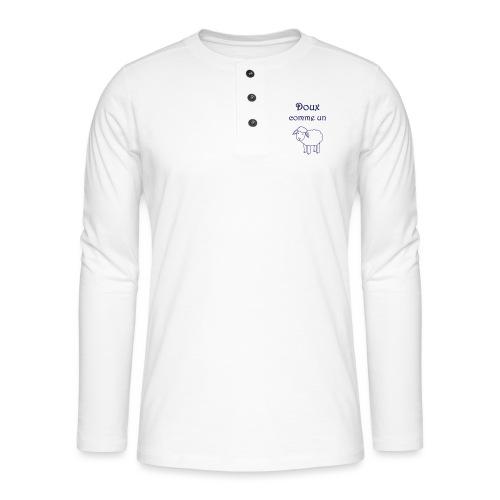 doux-comme-un-agneau-2 - T-shirt manches longues Henley