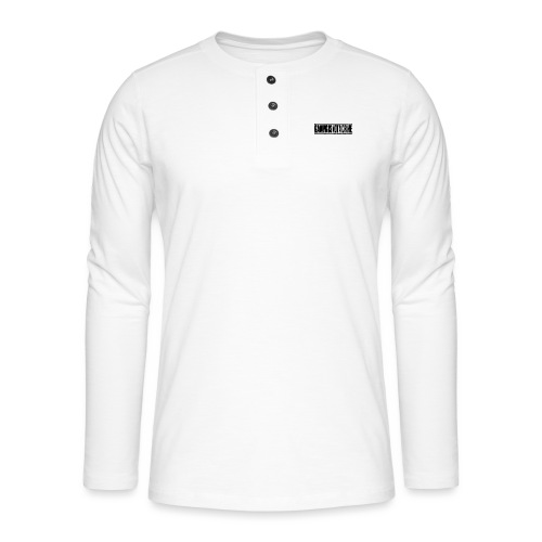 Gaming is not a crime - T-shirt manches longues Henley