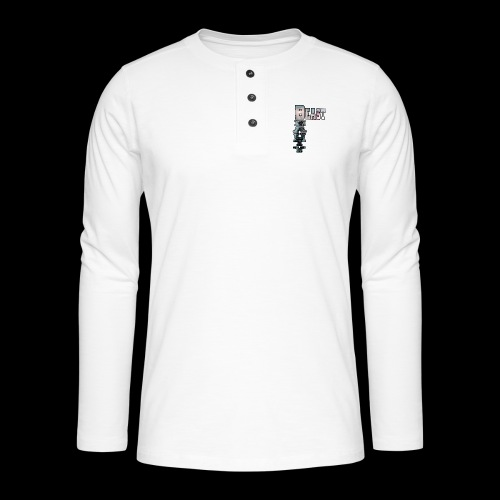 BEAST AND BEAUTY - T-shirt manches longues Henley