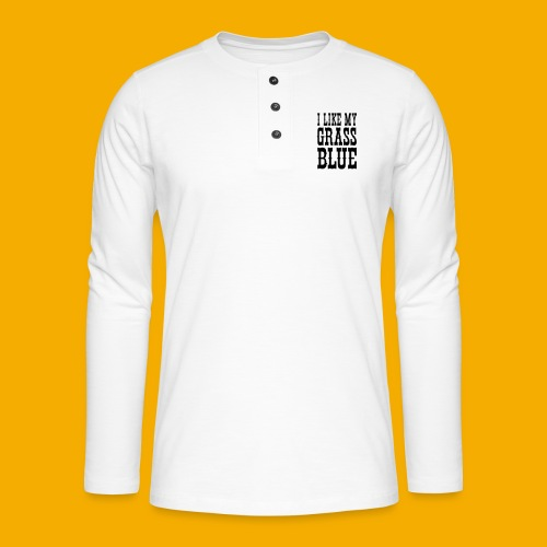 bluegrass - Henley shirt met lange mouwen