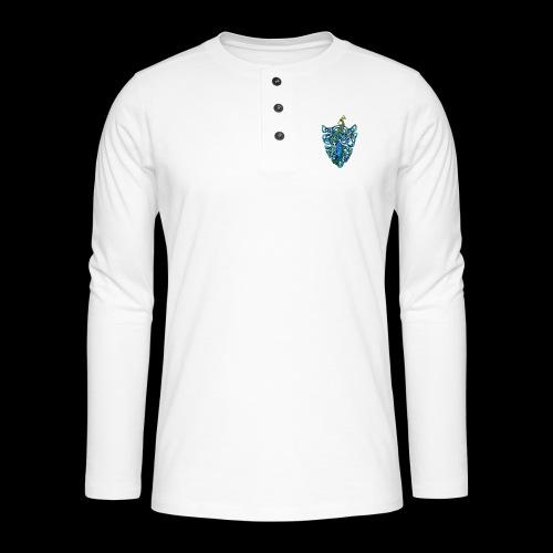 Peacock - Henley long-sleeved shirt