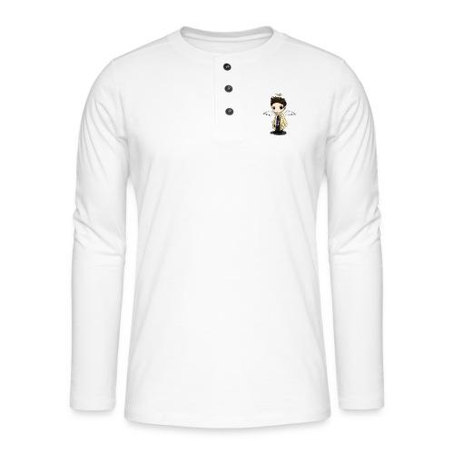 Team Castiel (dark) - Henley long-sleeved shirt