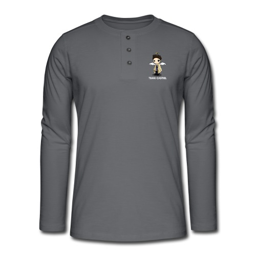 Team Castiel (dark) - Henley long-sleeved shirt
