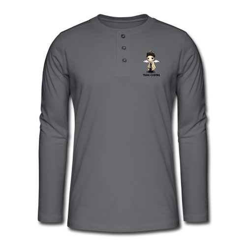 Team Castiel (light) - Henley long-sleeved shirt
