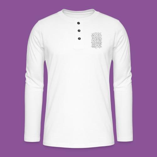 Nervenleiden 54 - Henley Langarmshirt