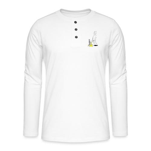 tissekopp original - Henley langermet T-skjorte