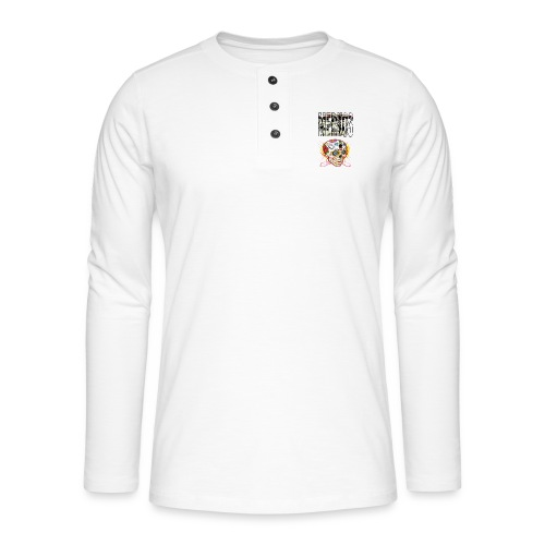 MERKOS CALAVERAS - Camiseta panadera de manga larga Henley