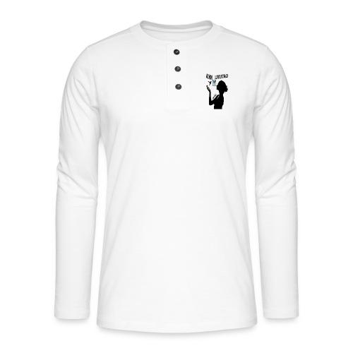 merkos libertad - Camiseta panadera de manga larga Henley