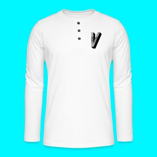 FIVES big V - T-shirt manches longues Henley