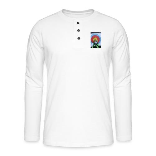 F1C5C2F0 28A3 455F 8EBD C3B4A6A01B45 - Henley langermet T-skjorte