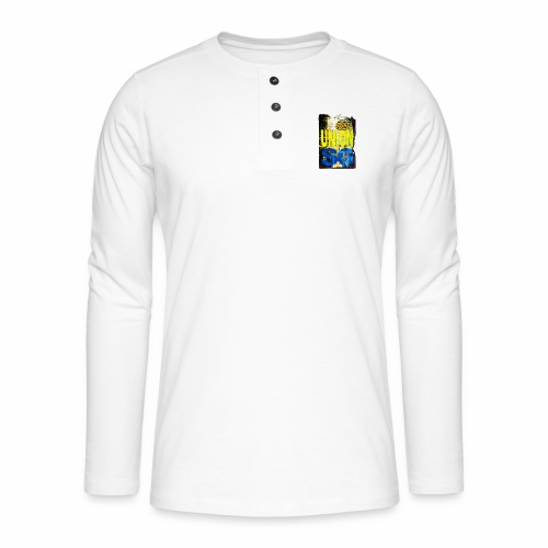 UNION SG - Henley shirt met lange mouwen