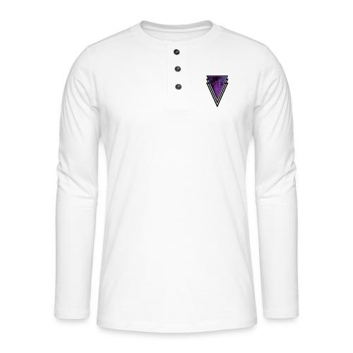Gothic Glamour Purple Magic Halloween Goth Glam - Henley long-sleeved shirt