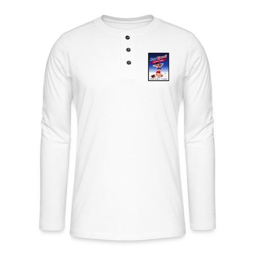 Stephanie Politics - Henley shirt met lange mouwen