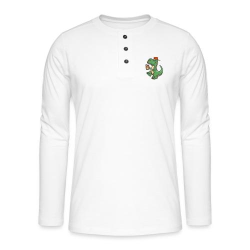 HEMI THE DINOSAUR - Henley pitkähihainen paita