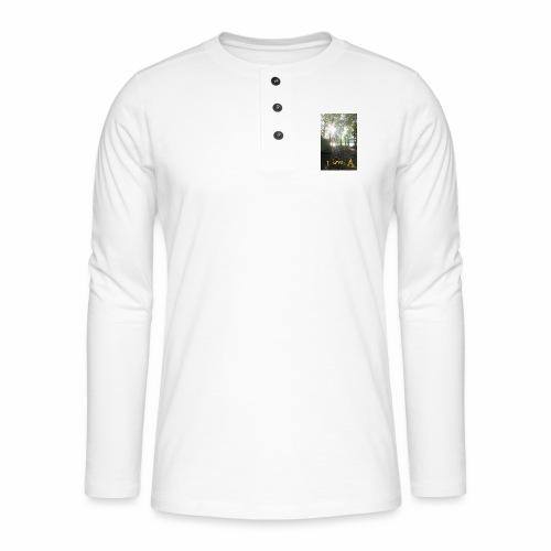 camping - Henley shirt met lange mouwen