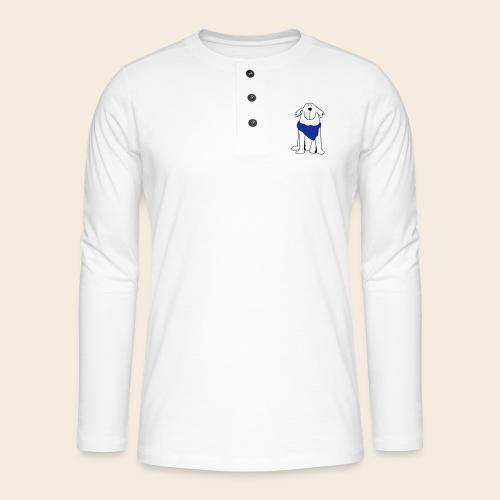 Retriever mignon - T-shirt manches longues Henley