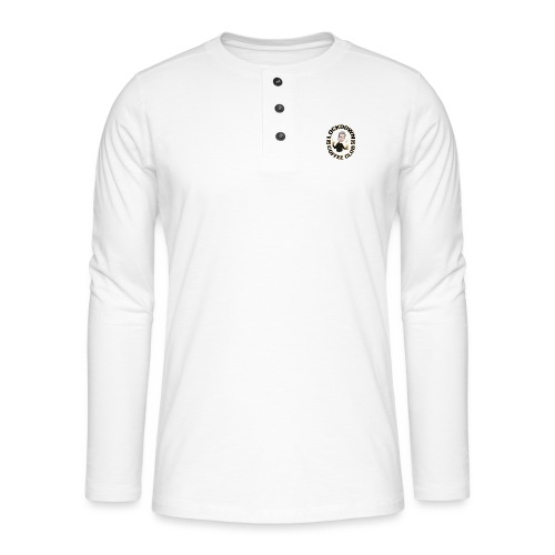 Lockdown Coffee Club 2020 - Henley long-sleeved shirt