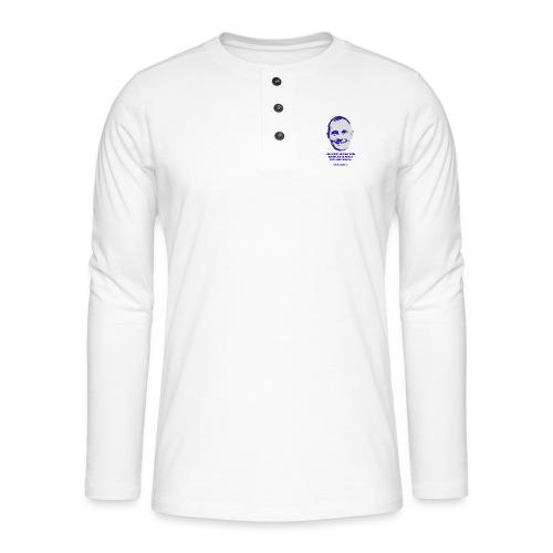 Skalleberg - Henley langermet T-skjorte