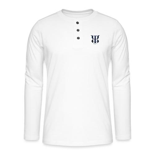 galaxy logo - Henley long-sleeved shirt