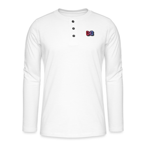 Double Games DB - Henley shirt met lange mouwen