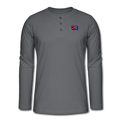 Double Games DB - Henley shirt met lange mouwen