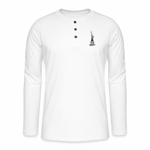 True liberty - Henley long-sleeved shirt