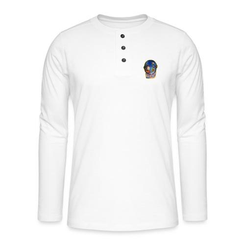 by Sjulle Schuldsted - Henley T-shirt med lange ærmer