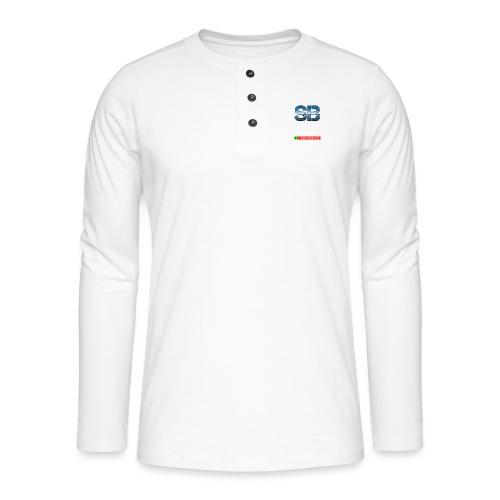 Health Tee Oh Shiiet! - Henley T-shirt med lange ærmer