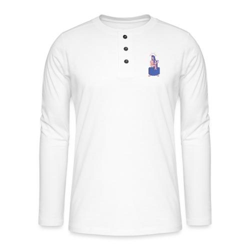 Vierge à l'enfant - T-shirt manches longues Henley