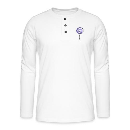geringelter Lollipop - Henley Langarmshirt