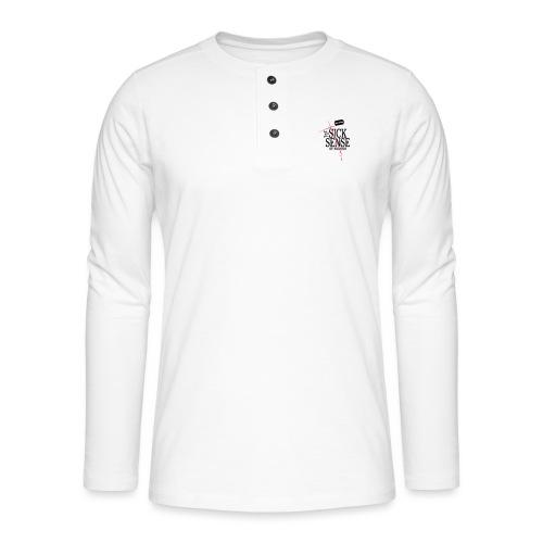 DM blasphemous cut - Henley Langarmshirt