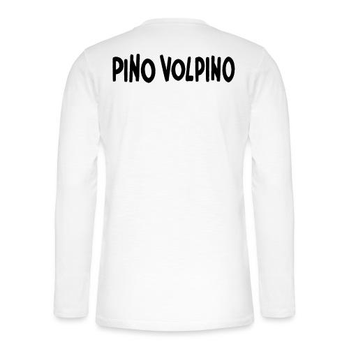 PinoVolpino logo - Maglia a manica lunga Henley