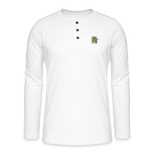 Les sardines du Portugal - T-shirt manches longues Henley