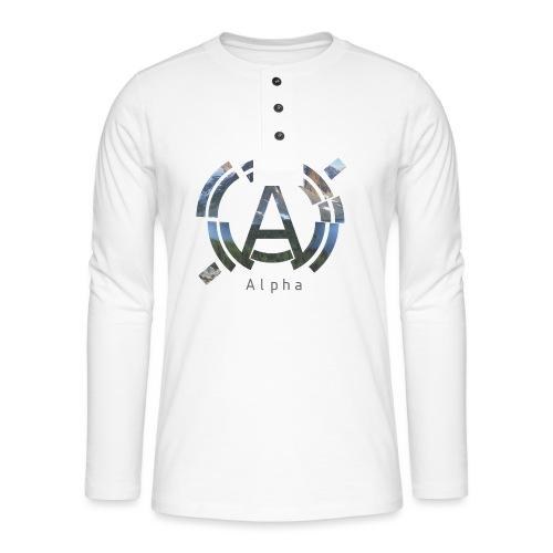 AlphaOfficial Logo T-Shirt - Henley long-sleeved shirt