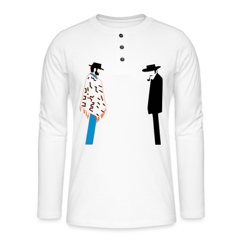 Bad - T-shirt manches longues Henley