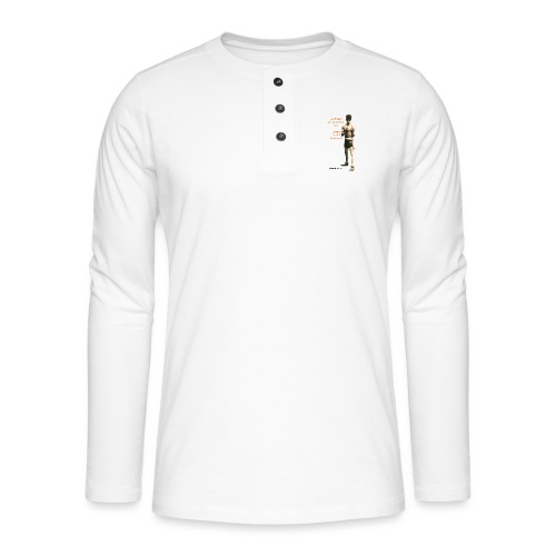 Fight Antigypsyism Johann Rukeli Trollmann - Henley long-sleeved shirt