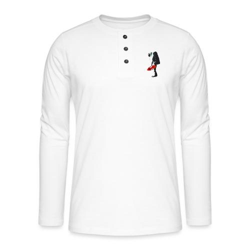Space Lifeguard - Henley long-sleeved shirt
