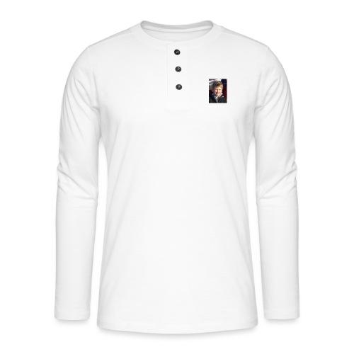 300 - Henley langermet T-skjorte